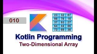 010 Two-Dimensional Array : Kotlin Programming Language
