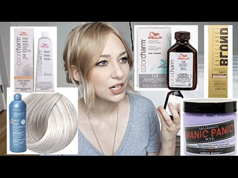 ABOUT BLONDE TONERS | Wella, Manic Panic, Redken & more! | MY EXPERIENCES & FAVS