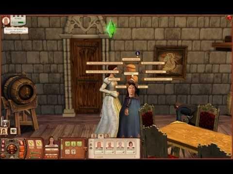 Let's Play Die Sims: Mittelalter #018 [Deutsch] [HD] - Die erste gelöste Königs-Queste