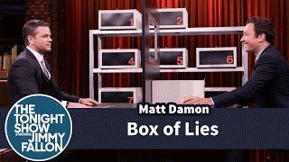 Box of Lies with Matt Damon