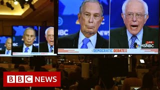Democratic debate: Bloomberg rivals line up to attack billionaire - BBC