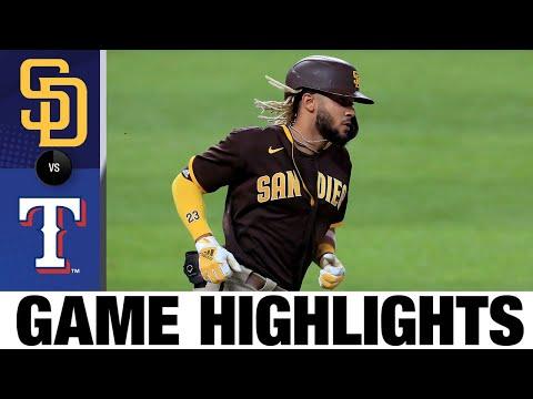 Fernando Tatis Jr. goes deep twice in Padres' win | Padres-Rangers Game Highlights 8/17/20