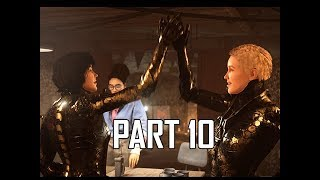 Wolfenstein Youngblood Walkthrough Part 10 -  (Let's Play Commentary)