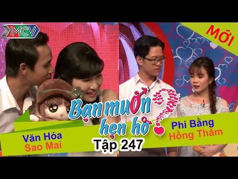 Hình ảnh Youtube -  BẠN MUỐN HẸN HÒ | Tập 247 - FULL | Văn Hóa - Sao Mai | Phi Bằng - Hồng Thắm | 200217