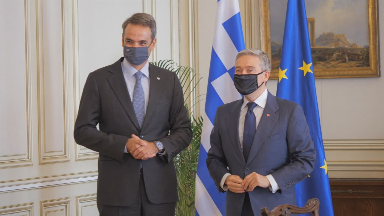 Συνάντηση του Πρωθυπουργού με τον Υπουργό Εξωτερικών του Καναδά François-Philippe Champagne