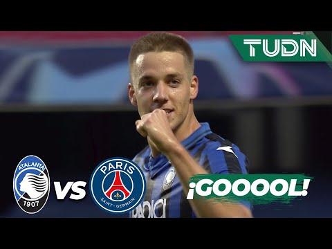 ¡GOL! ¡Atalanta da la sorpresa! | Atalanta 1-0 Paris SG | Champions League 2020 – 4tos final | TUDN