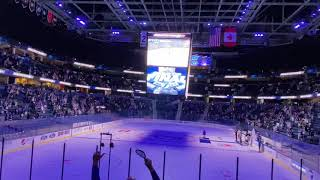 Inside Amalie Arena while the Lightning win the Stanley Cup in Edmonton 2020