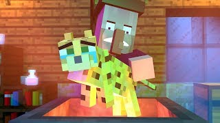 Witch Vs Ocelot Life   Rusplaying Minecraft Animation