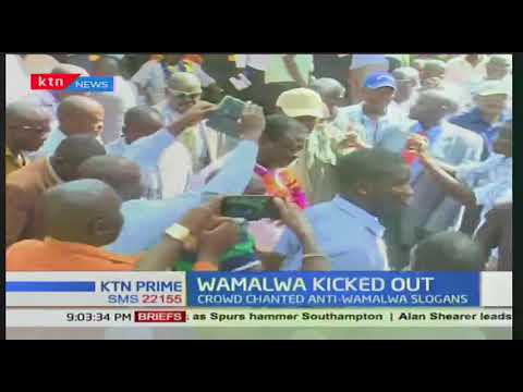 Water and Irrigation CS Eugene Wamalwa forced out of Maragoli Festival in Vihiga