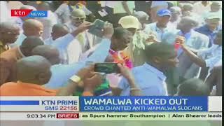 Water and Irrigation CS Eugene Wamalwa forced out of Maragoli Festival in Vihiga