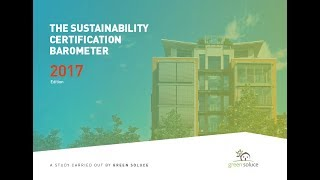 The sustainability certification barometer 2017 event!