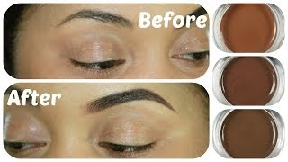 Brow Tutorial, Swatches, Review | Anastasia Beverly Hills Dipbrow Pomade