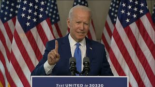 video: Biden accuses Trump of 'abuse of power' over US Supreme Court vacancy