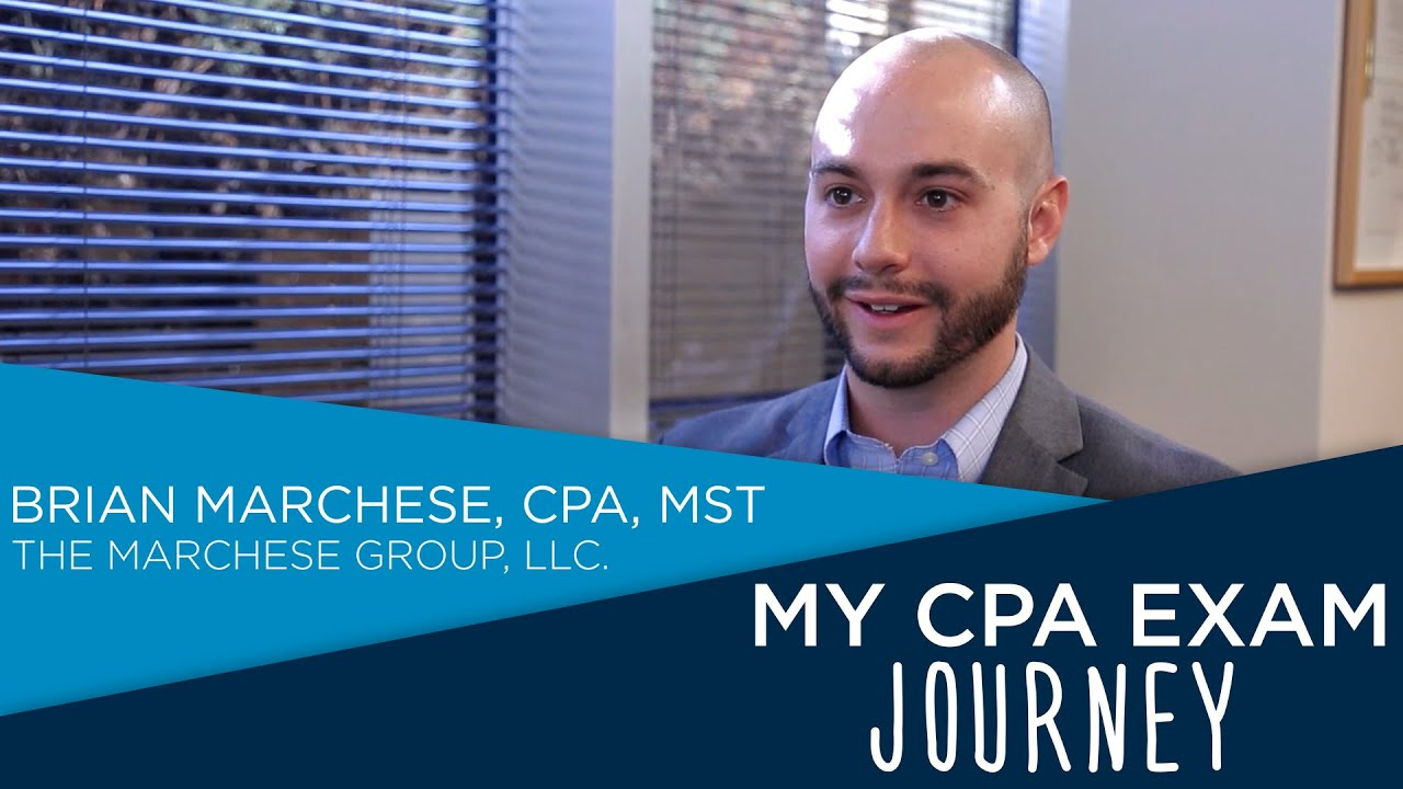 Brian Marchese - My CPA Exam Journey