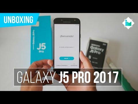Samsung Galaxy J5 Pro 2017 - Unboxing en español