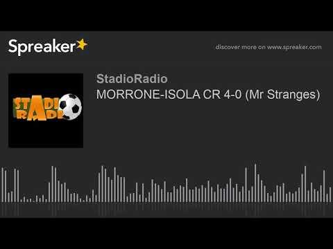 MORRONE-ISOLA CR 4-0 (Mr Stranges)