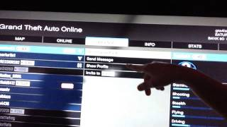 How to invite players on invite only session in gta 5 online