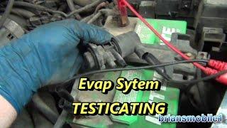 Evap Leak Testing P0422 P0455