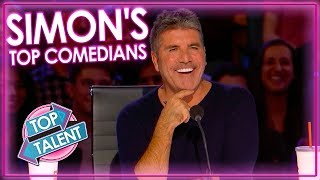 Simon Cowell's Funniest Comedians on America's Got Talent 2019 | Top Talent