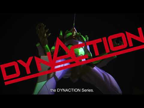 超巨大x超可動 40 公分高「DYNACTION EVA 初號機」商品介紹影片