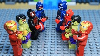 Lego Superhero Avengers Civil War Figure Begin