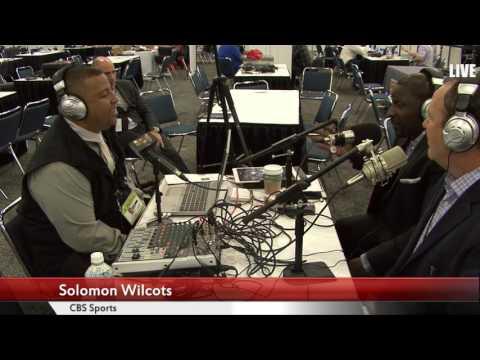 Fox Sports Radio's Darren Smith's interview with CBS' Solomon Wilcots on Radio Row.