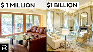 $1 Million VS $1 Billion Dollar Apartments