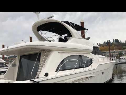 Meridian 580 Pilothouse video