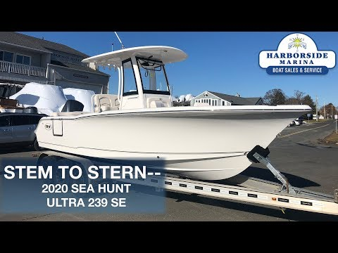 Sea Hunt Ultra 239 SE video