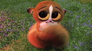 DreamWorks Madagascar Em Português   Chorando Mort Cena -Madagascar   Desenhos Animados