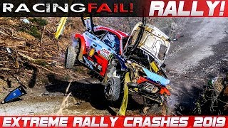 BEST OF EXTREME RALLY CRASH 2019-2020 THE ESSENTIAL COMPILATION! PURE SOUND!