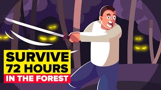 Surviving 72 Hours in the Forest Alone (CHALLENGE & EXPERIMENT)