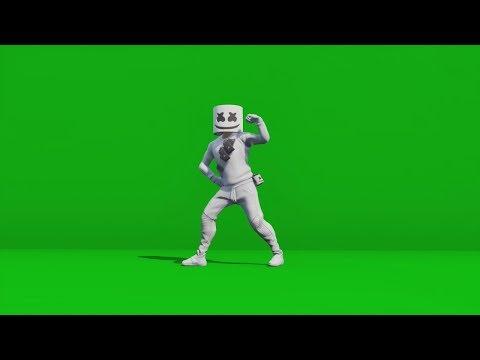 Fortnite Dance Green Screen | STAMP TUBE