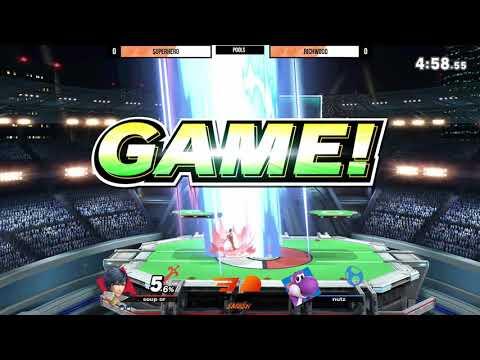 Smash Rush 4 SSB Ultimate Superhero vs Richwood