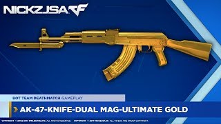 AK47KnifeDual MagUltimate Gold  CROSSFIRE China 20
