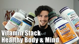 Vitamins and Supplements for Health, Bones and Brain Function