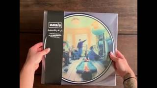 Oasis - Limited edition 25th anniversary 'Definitely Maybe' picture disc [Reveal]