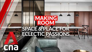 Making Room: A 510 sq ft HDB flat for a couple's eclectic passions   CNA Lifestyle