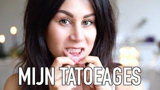 SPIJT VAN TATOEAGE? + UPDATED TATTOO VIDEO