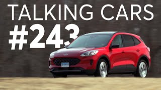 2020 Ford Escape Hybrid Test Results; CR Autos Spotlight | Talking Cars with Consumer Reports #243