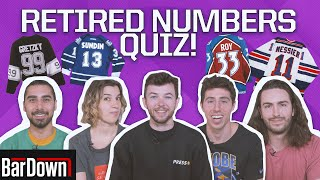 CAN YOU PASS THIS NHL RETIRED NUMBERS QUIZ?