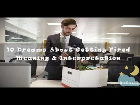 #32 Dreams About Getting Fired – Meaning & Interpretation