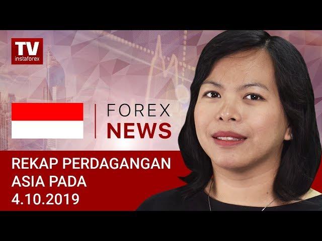 04.10.2019: USD melemah menjelang laporan NFP (USDX, JPY, USD, AUD)