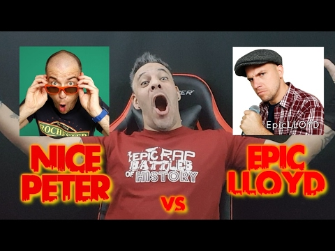 Nice Peter vs EpicLLOYD - Epic Rap Battles of History Season FINALE REACTION!!!