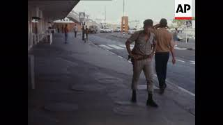 SYND 22-7-73 RAMLA PRISON AND AIRPORT SECURITY IN ISRAEL