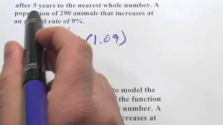 Word Problems With Exponential Functions