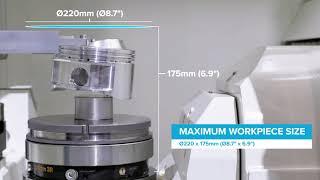 Kitamura MedCenter5AX Ultra Compact 5-Axis VMC - Simultaneous 5-Axis Machining