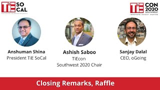 Closing Remarks | TiEcon Southwest 2020