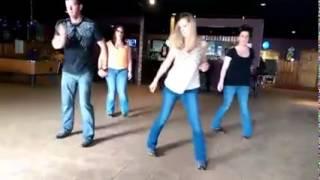 "Linedance to Luke Bryan's ""Kick the Dust Up"""