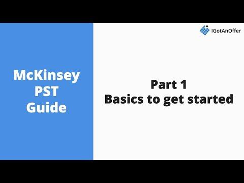 McKinsey PST - How to prepare? (2019) – IGotAnOffer